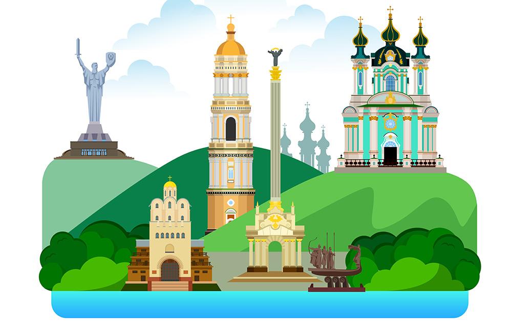 Украинские чудеса на карте мира