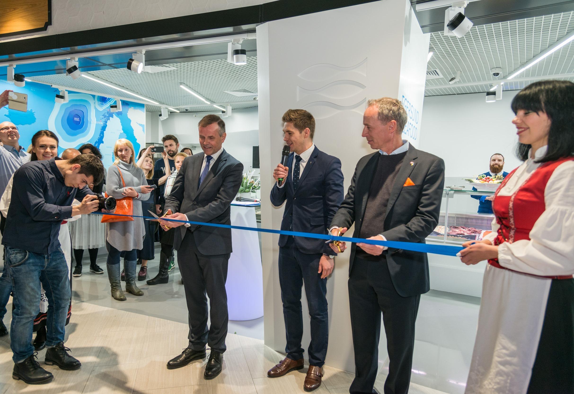 В ЦУМе открылся магазин Egersund Seafood
