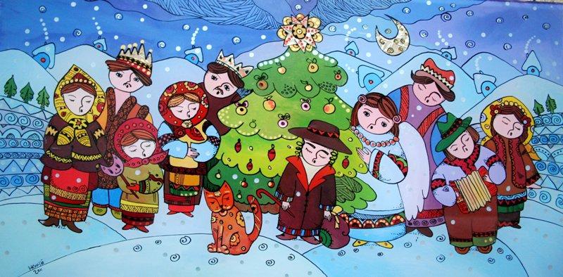 Різдво Христове за східним обрядом.Вокруг Света. Украина