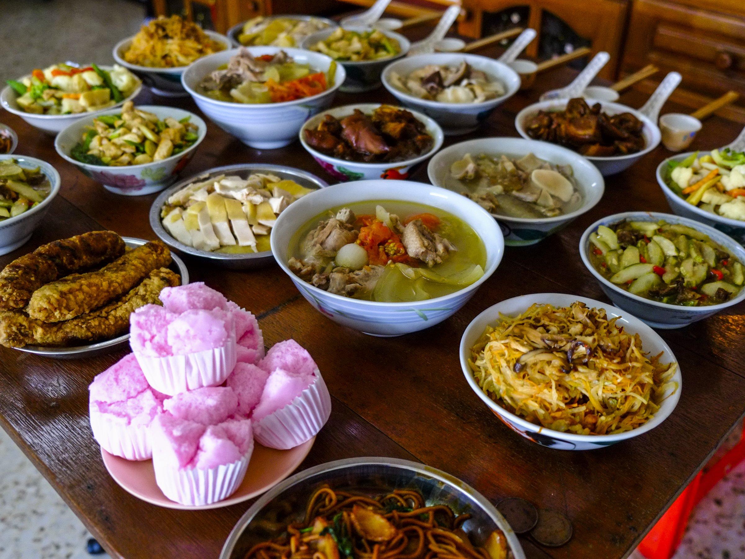 10 блюд на удачу на китайском новогоднем столе