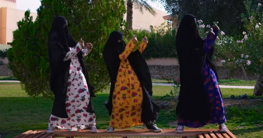 Арабские женщины снялись в видео, высмеивающем мусульманские законы.Вокруг Света. Украина