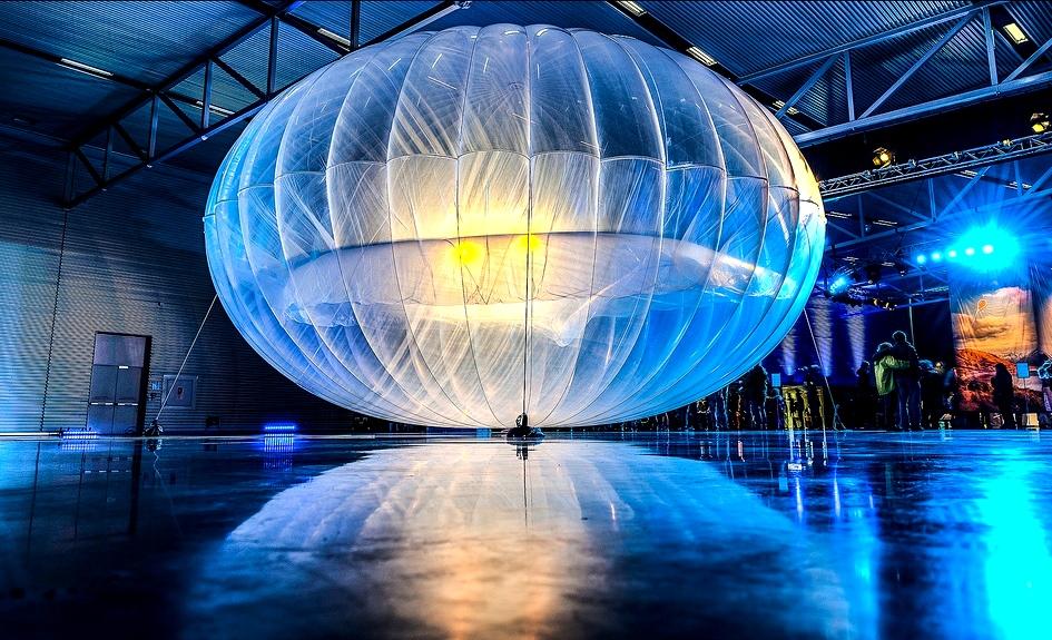 Project Loon – доставка интернета на воздушном шаре