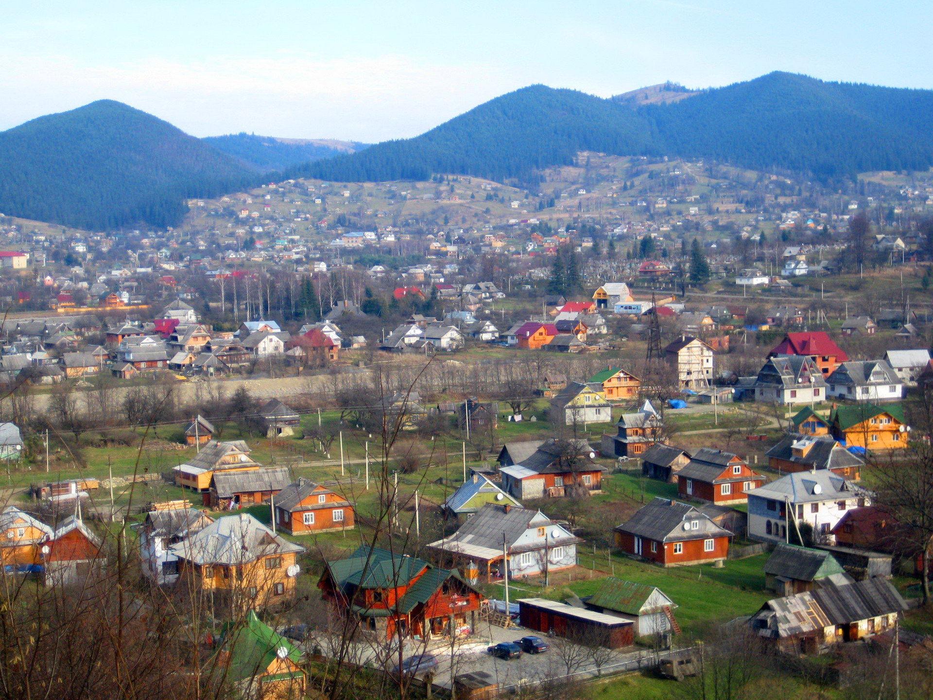 Микуличин: карпатское село длиной 44 км