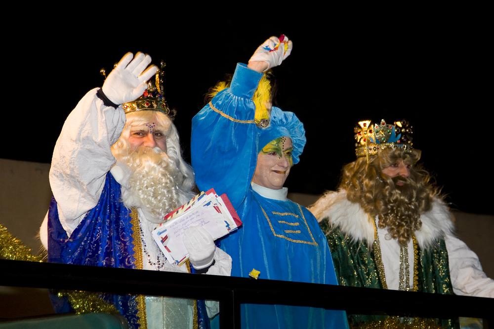 Парад трех царей в Испании