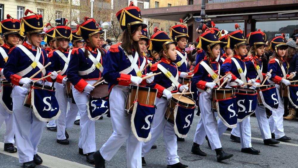 Барабанный фестиваль Тамборрада в Сан-Себастьяне.Вокруг Света. Украина