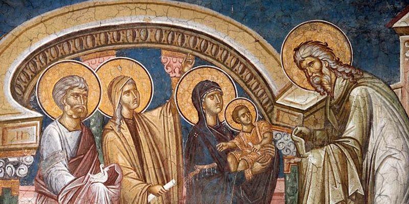 Сретение Господне у христиан восточного обряда