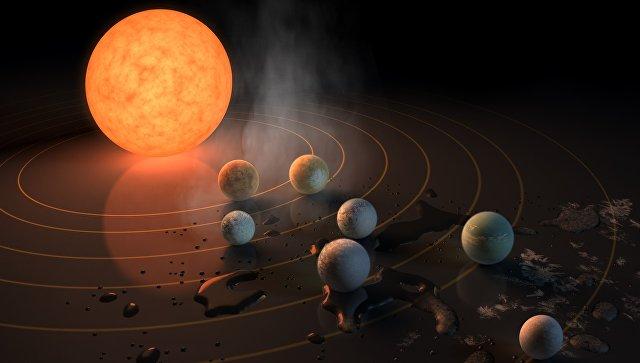 В NASA обнаружили семь планет, пригодных для жизни.Вокруг Света. Украина