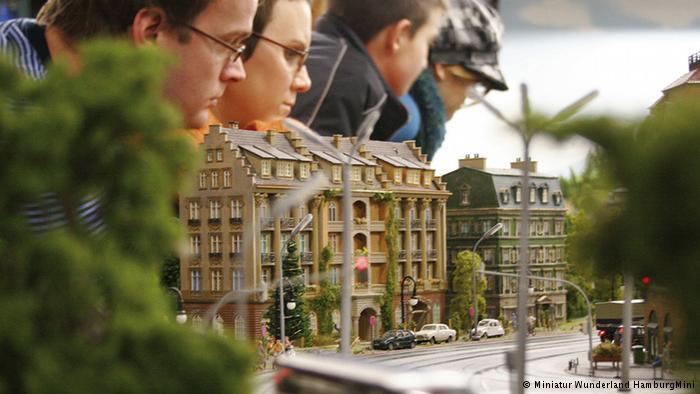Парк миниатюр «Страна чудес» в Гамбурге