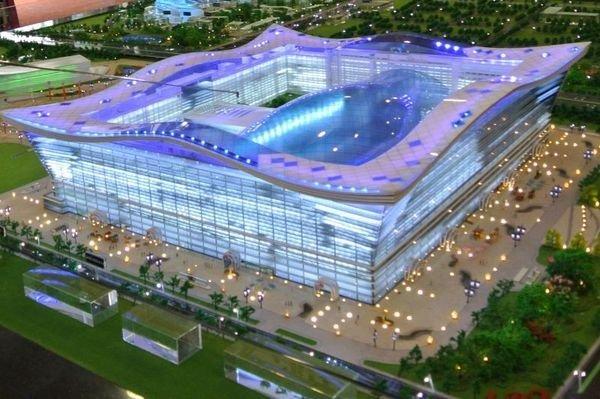 Глобальный центр «Новый век» в Китае