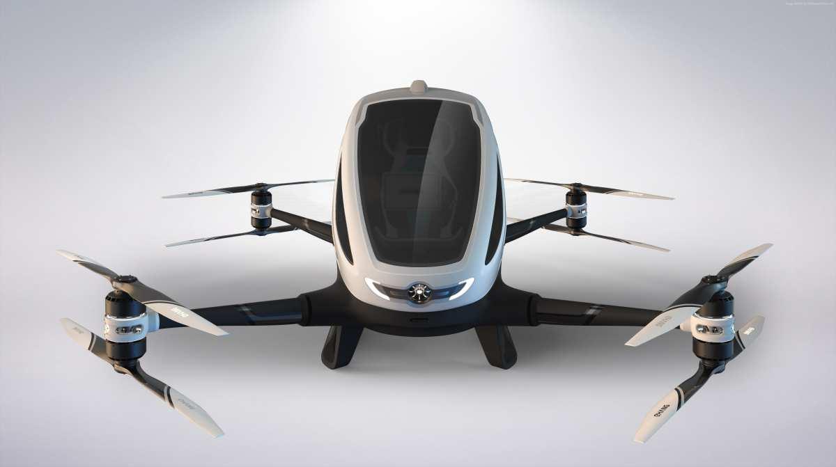 В Дубае запустят беспилотное такси-дрон