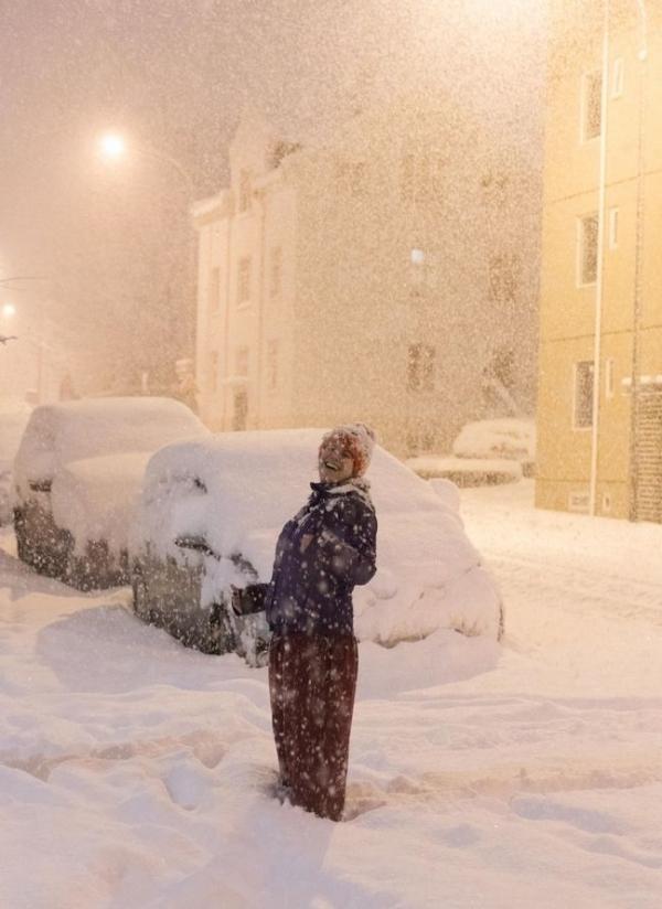 Исландию накрыл невероятный снегопад: зафиксирован рекорд.Вокруг Света. Украина