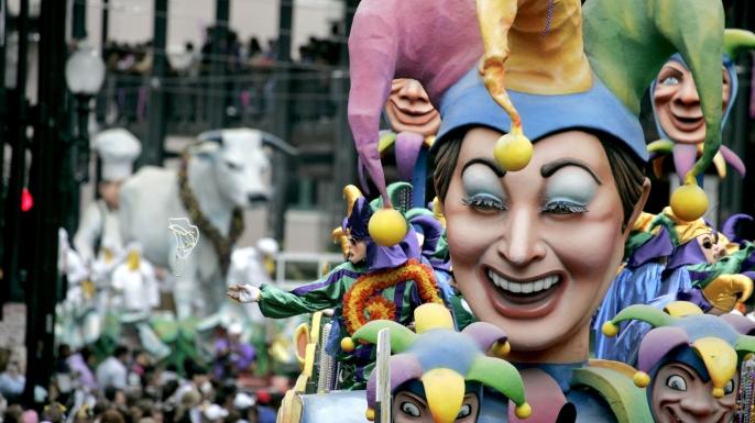 Mardi Gras или Жирный вторник