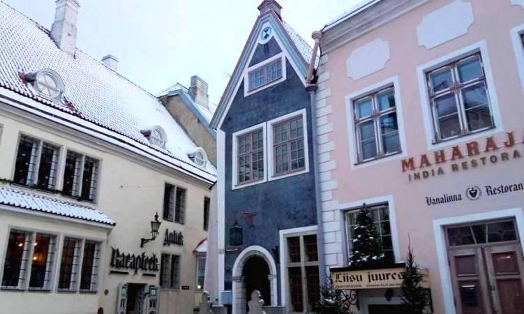 Замерзшая в Таллине, или Как выжить туристу в -30°С