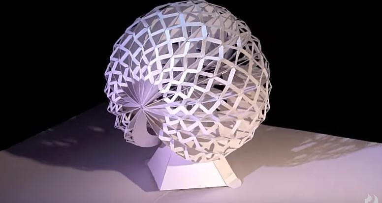 3D-скульптуры из бумаги
