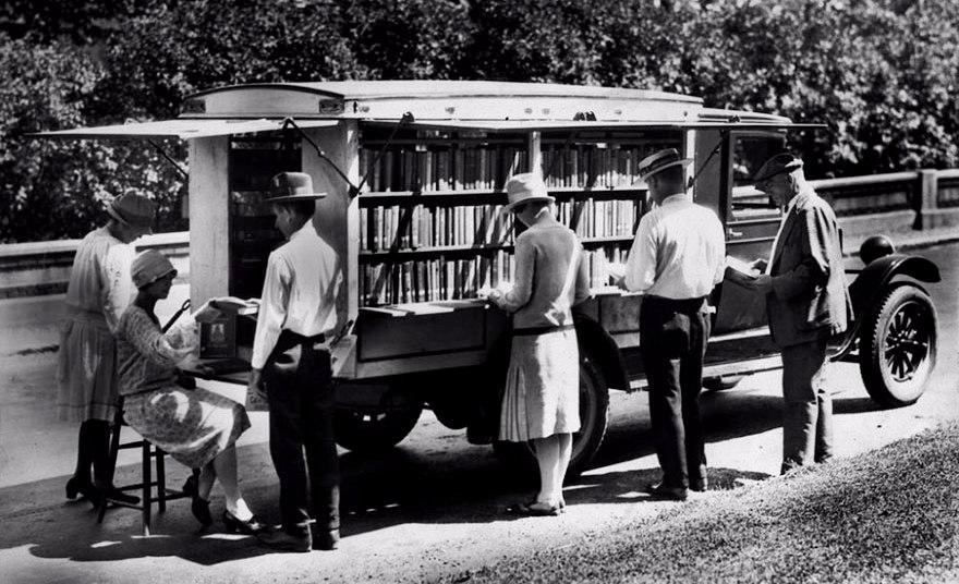 Букмобиль – авто, которое привозит знания