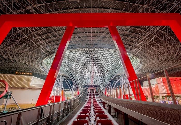 В марте в парке Ferrari World в Абу-Даби откроется Turbo Track.Вокруг Света. Украина