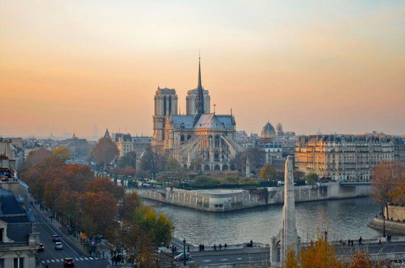 Лучшие смотровые площадки Парижа.Вокруг Света. Украина