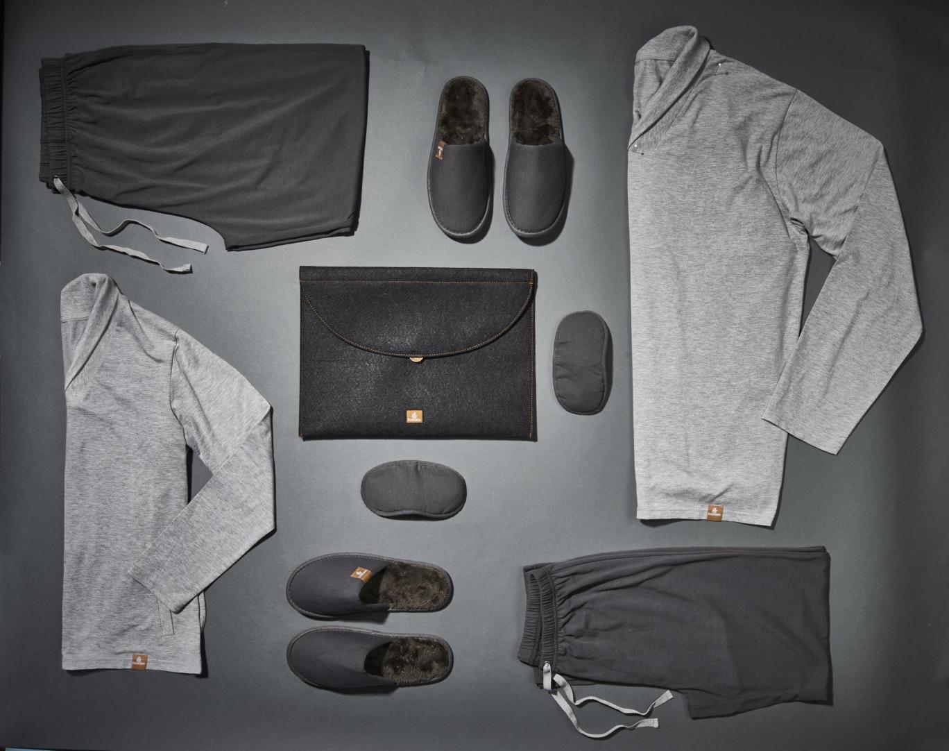 Emirates презентовала увлажняющую пижаму для пассажиров первого класса