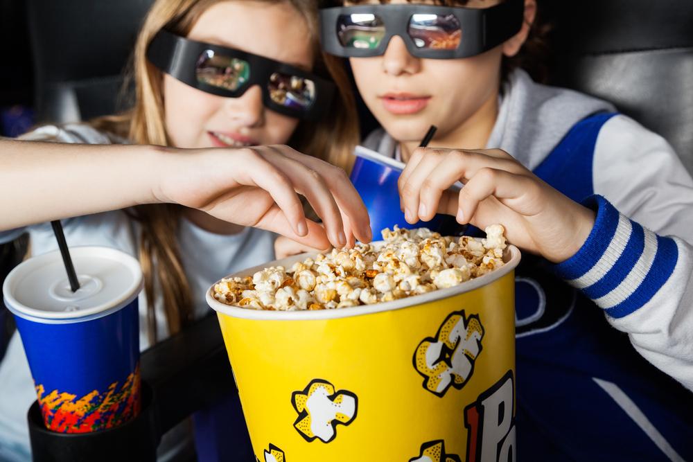 Как попкорн проник в кинотеатр