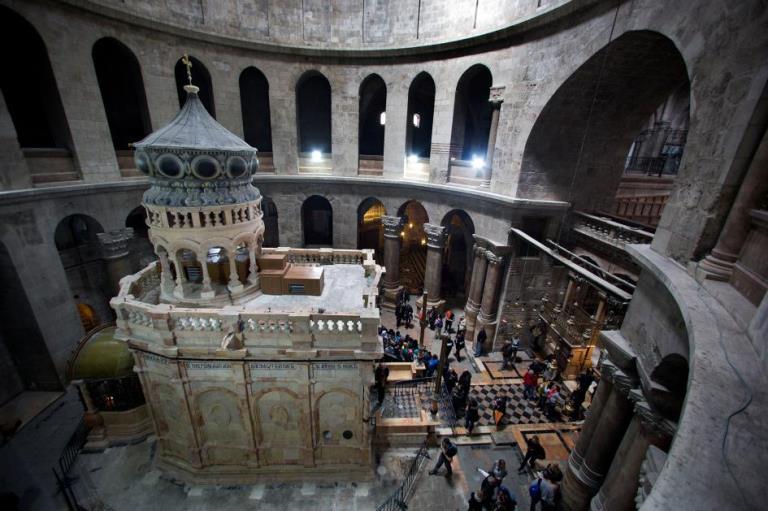 Гробница Христа может разрушиться.Вокруг Света. Украина