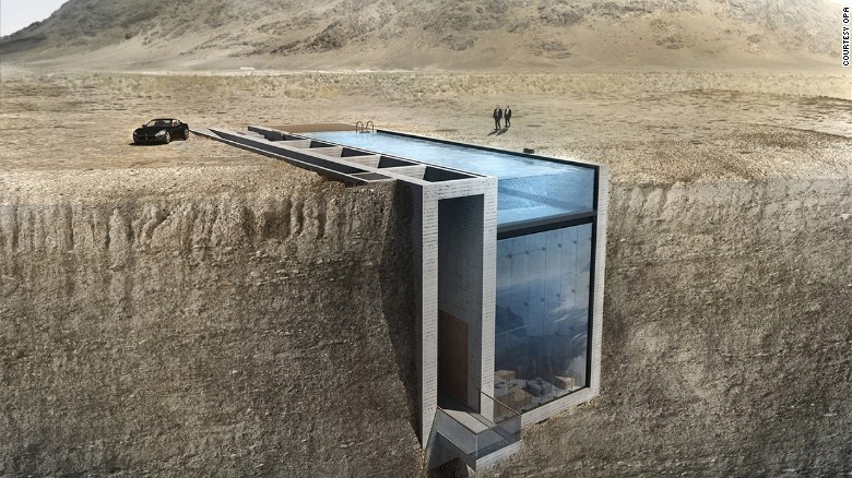 Подземные дома – новое направление в архитектуре