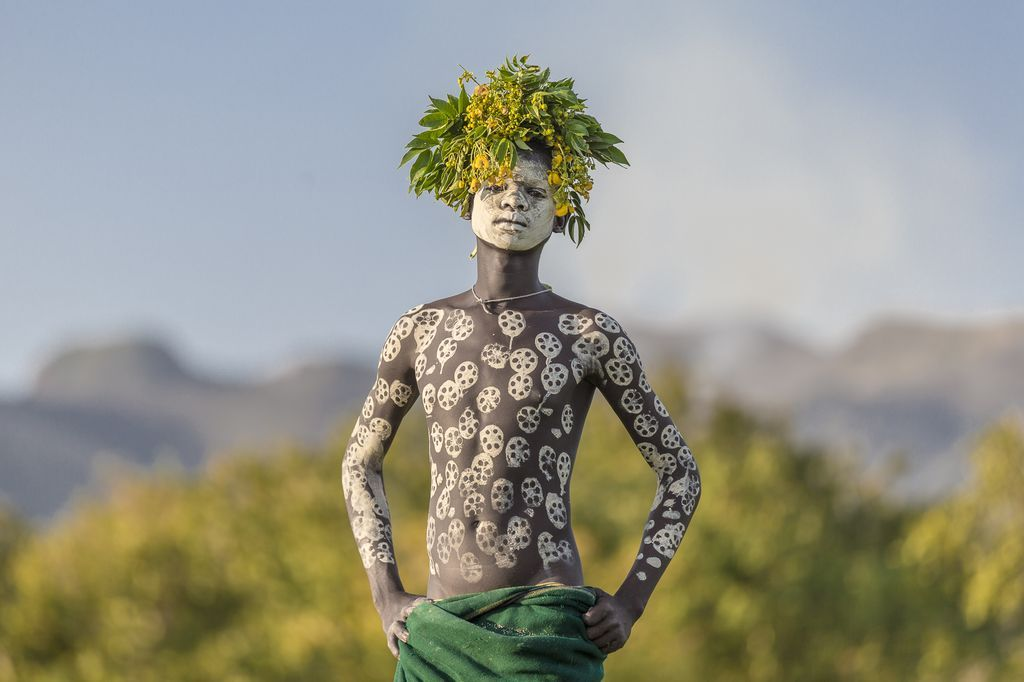 Мужская красота по-африкански