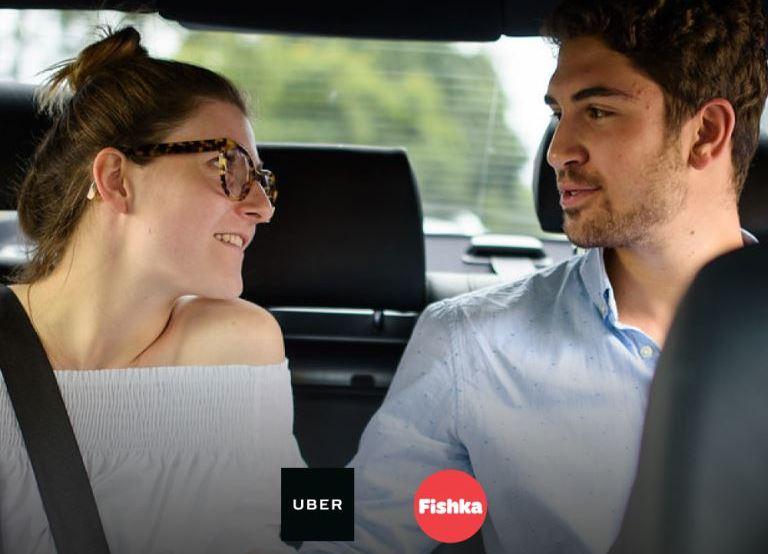 Бесплатная первая поездка с Uber
