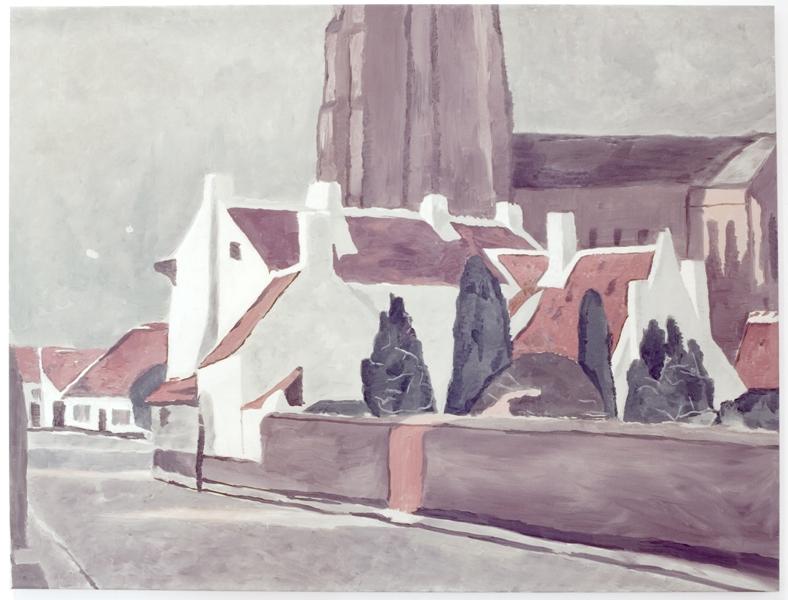 Люк Тёйманс «Фламандская деревня»