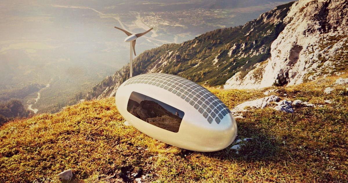 Благодаря миниатюрному дому Ecocapsule можно жить в любой точке мира.Вокруг Света. Украина