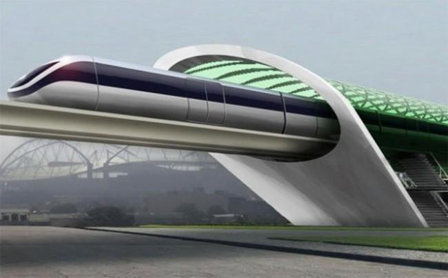 Hyperloop – сверхскоростной поезд будущего