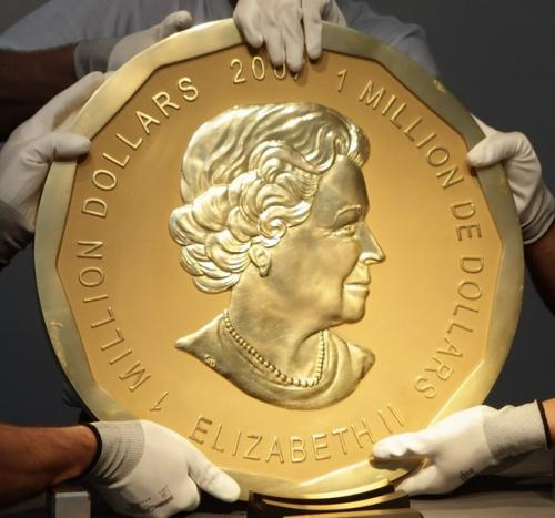 Кража на $4 млн: из берлинского музея пропала 100-килограммовая монета.Вокруг Света. Украина