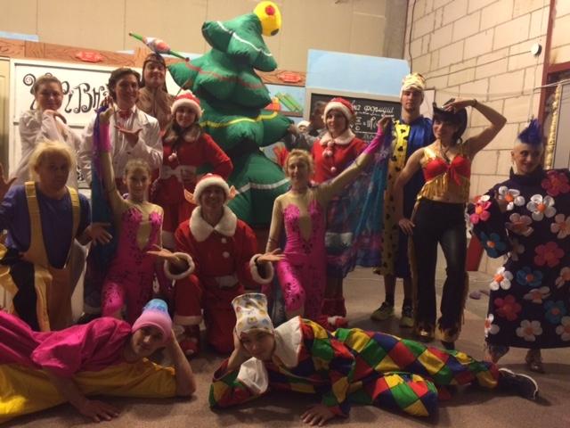 Шоу клоунов «Фиглики» в ТРК «Проспект».Вокруг Света. Украина