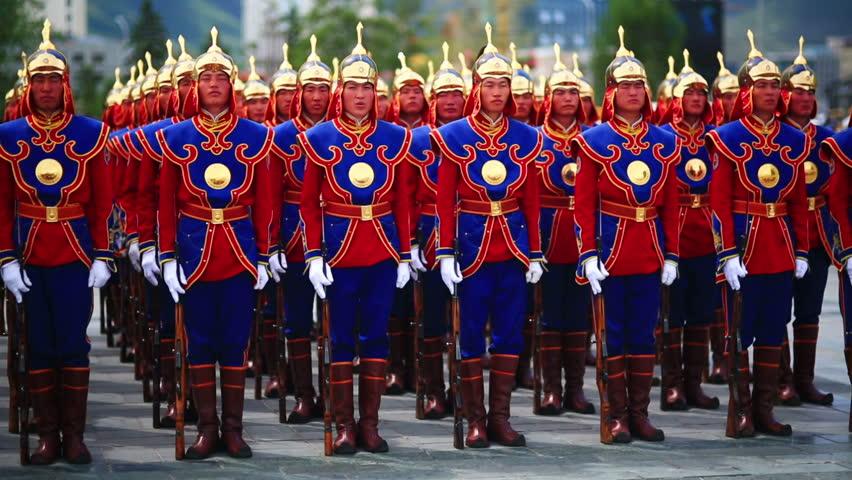 День мужчин и солдат в Монголии