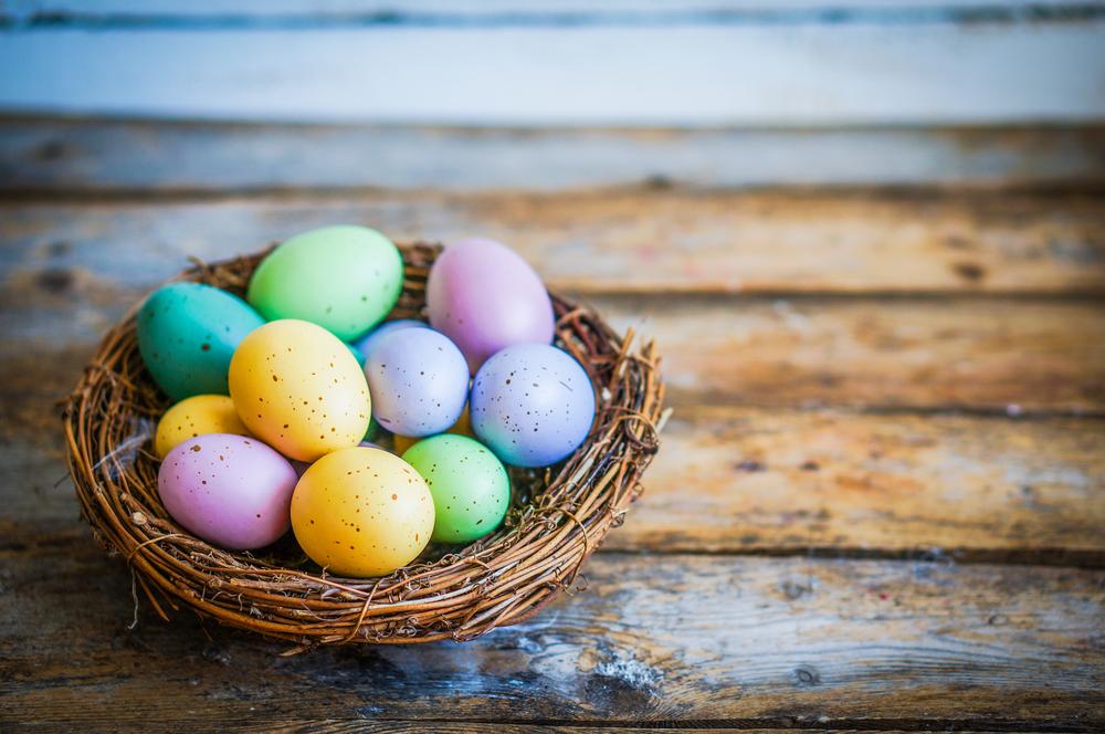 «Космические» писанки и бусы из перепелиных яиц: Украина готовится к Пасхе.Вокруг Света. Украина