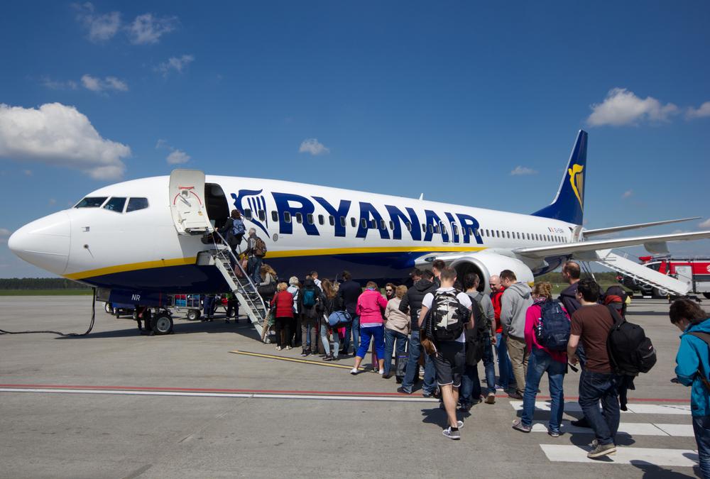 В Украину летит Ryanair