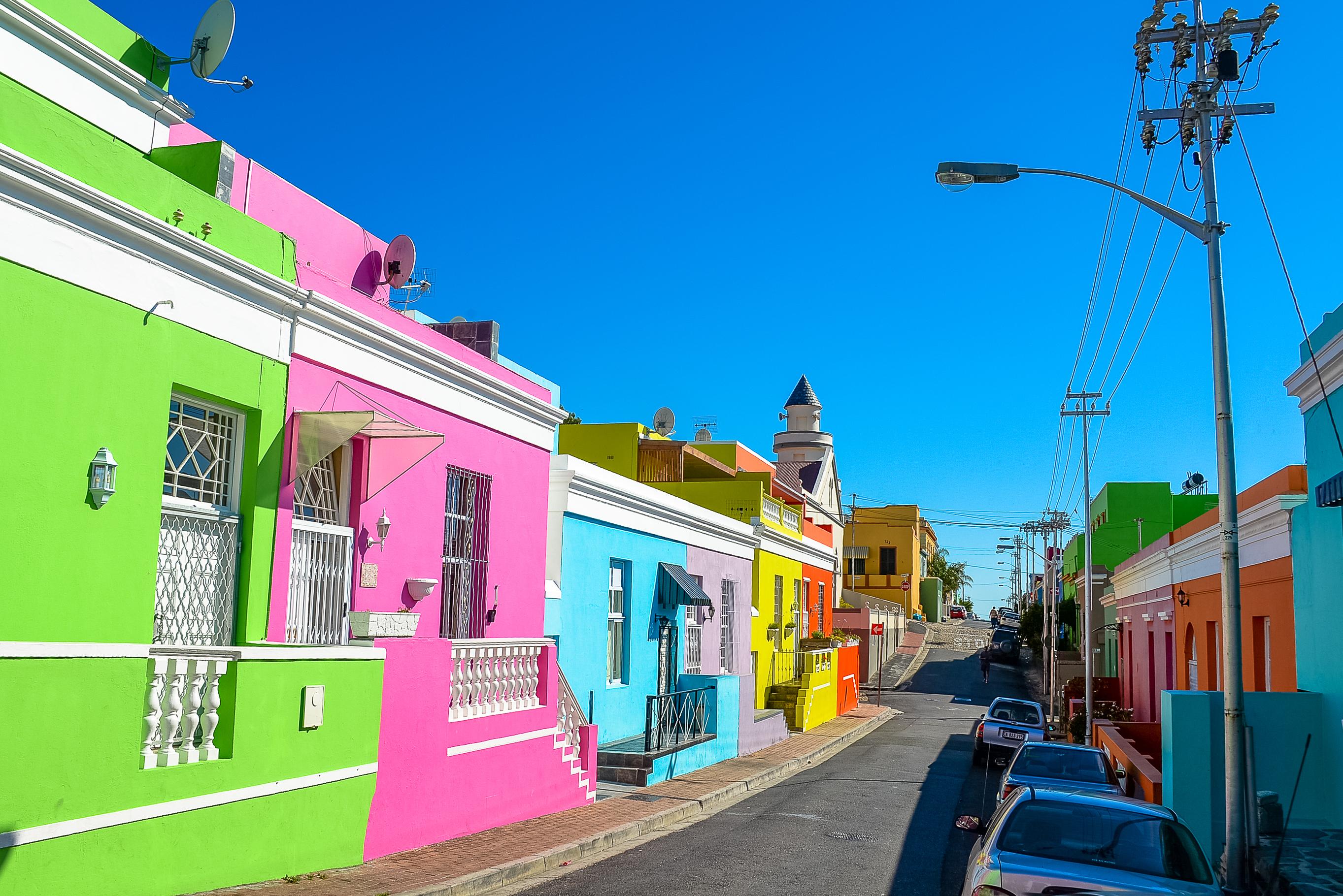Бо-Каап – разноцветное поселение на Черном континенте