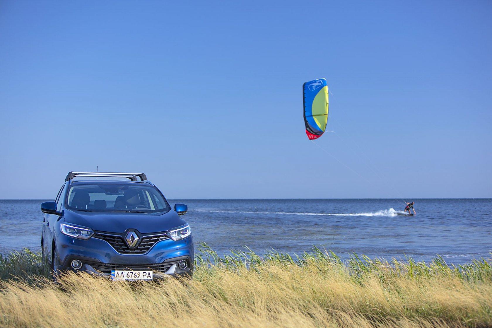 Познавай Украину с Renault Kadjar