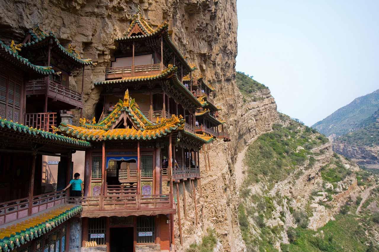 Сюанькун-сы – самый опасный и прекрасный монастырь в Китае