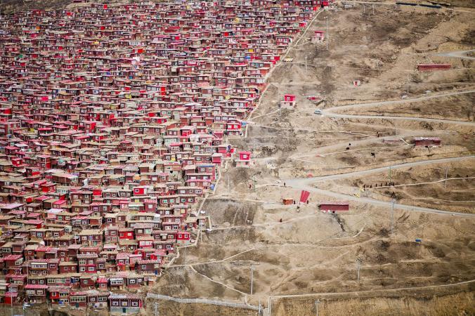 Красный город монахов
