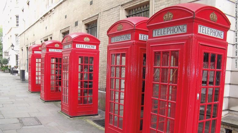 Британские телефонные будки получили вторую жизнь.Вокруг Света. Украина
