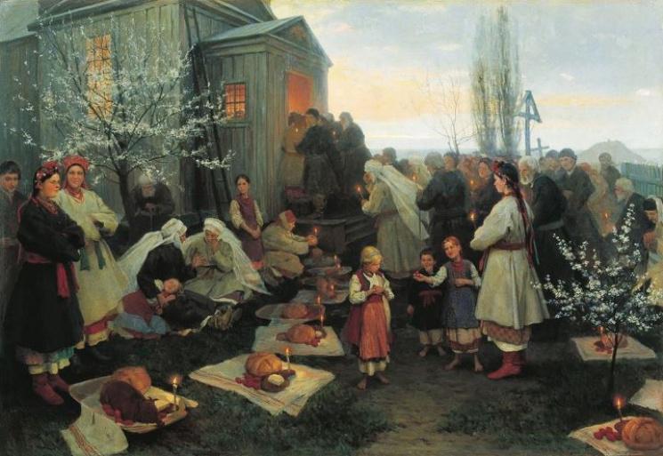 Бить в колокола и съесть «котика»: как отмечали Пасху древние украинцы