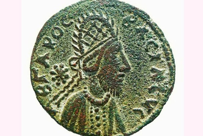 Найдена монета с прижизненным изображением Иисуса Христа.Вокруг Света. Украина