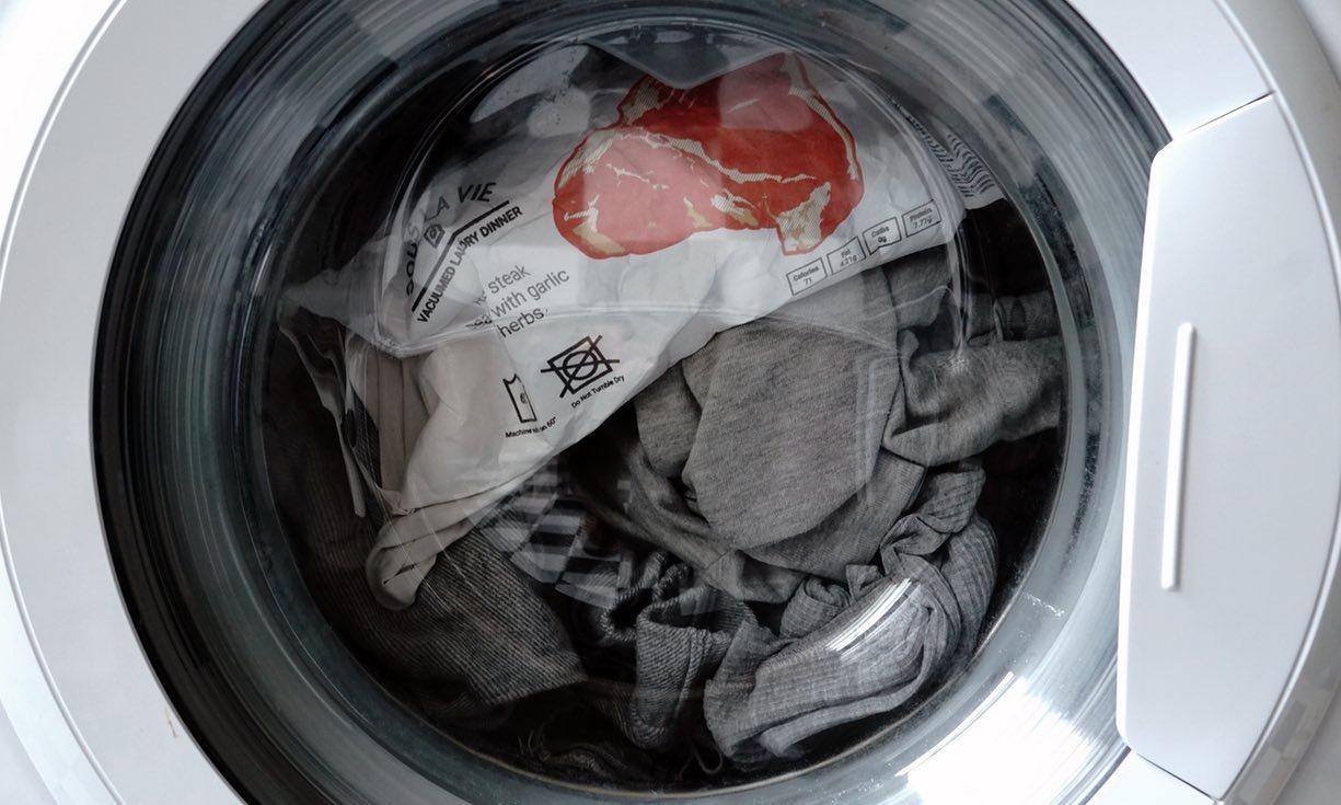 Обед в стиральной машине.Вокруг Света. Украина
