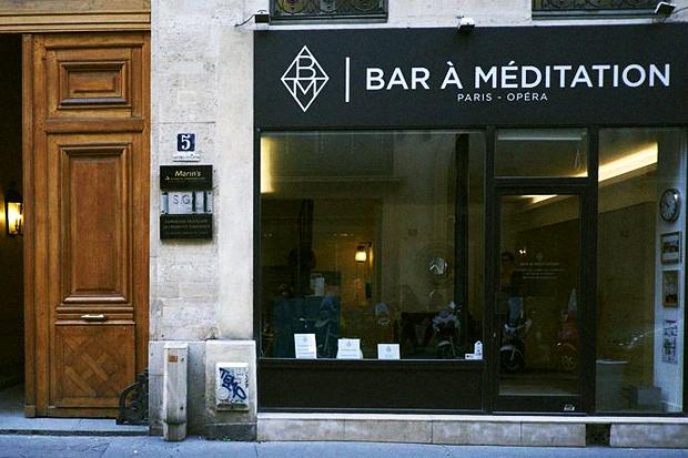 В Париже появился бар, где помогут очистить мозг от всего лишнего