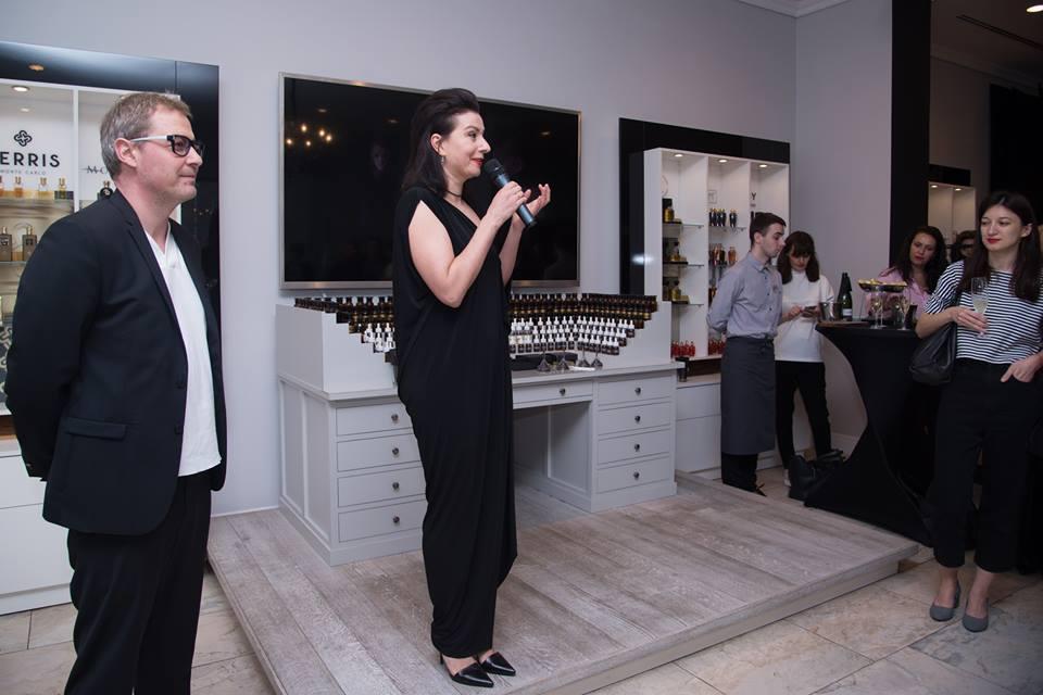 4 апреля в Галерее parfum büro состоялся re-see осенне-зимней коллекции ELENA BURENINA