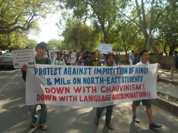 В Индии протестуют против хинди-шовинизма