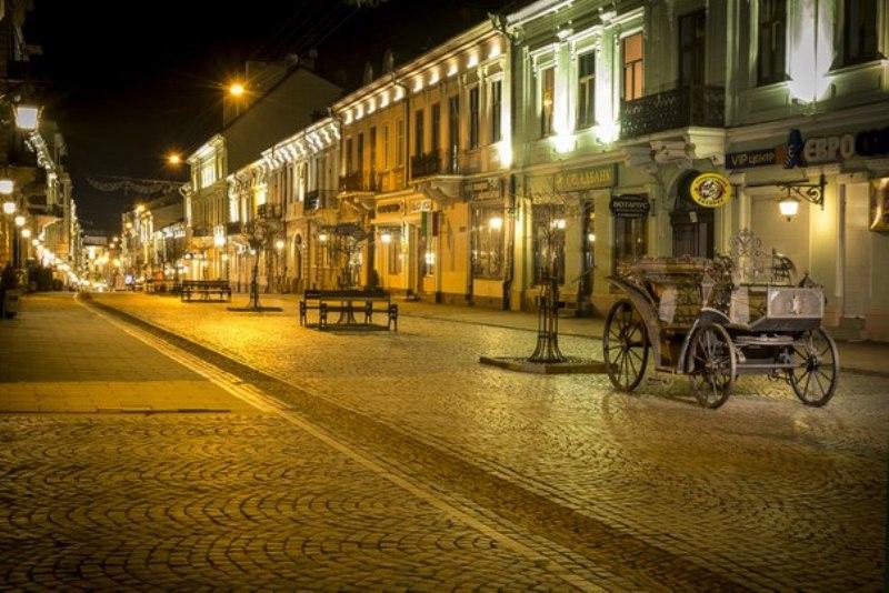 Города Украины с невообразимо прекрасными вечерними пейзажами