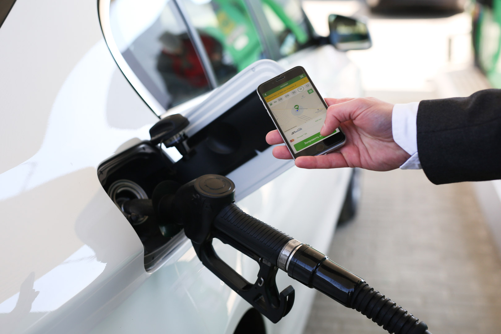 Masterpass позволяет украинцам платить за топливо на АЗК WOG с помощью смартфона, не отходя от авто.Вокруг Света. Украина