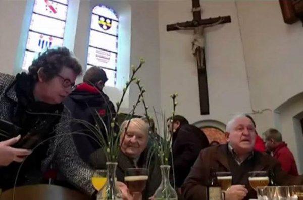 В Бельгии после богослужения церковь превращают в бар
