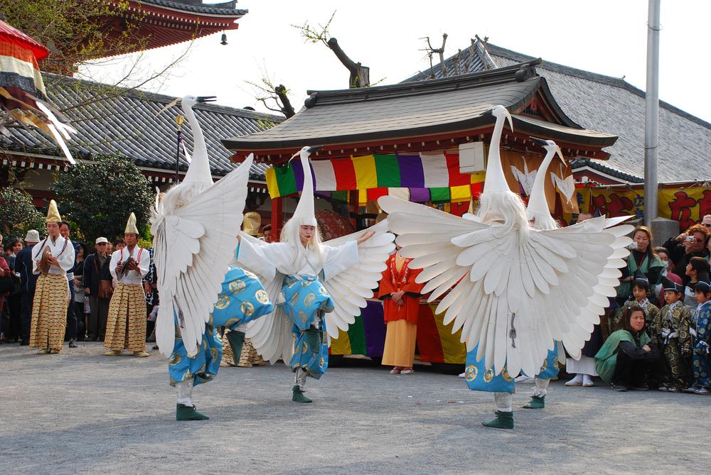 Хана мацури или Фестиваль цветов в Японии